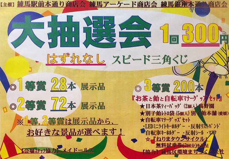 練馬駅周辺商店会 大抽選会