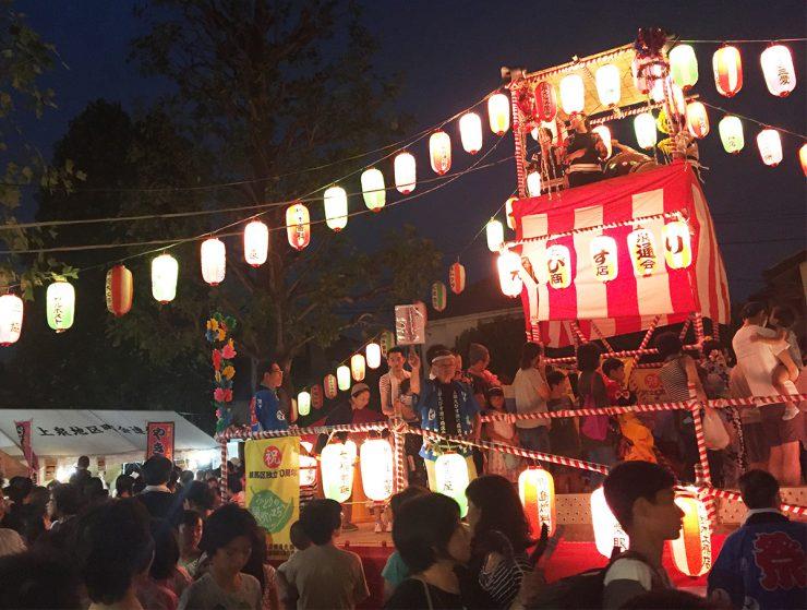 大泉つつじ公園 納涼盆踊り大会