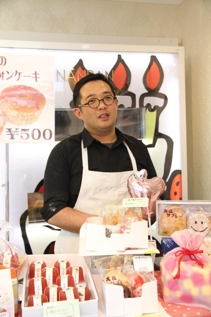 フランス製菓店主 山口さん