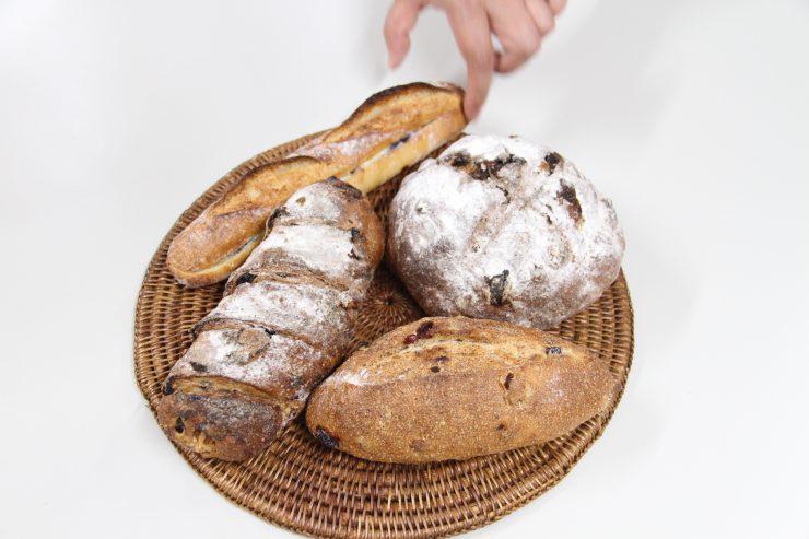 ハード系のパン集合