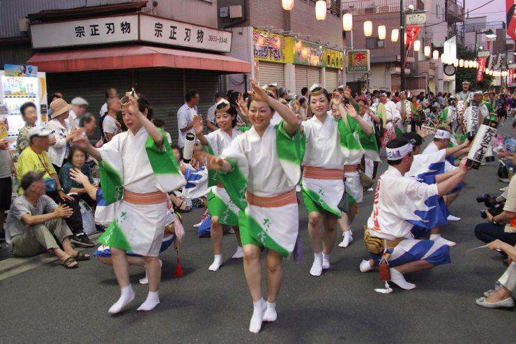 きたまち阿波踊り 2015年