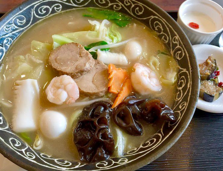 唐苑 広東麺