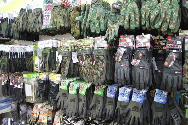駐屯地 ショップ 手袋