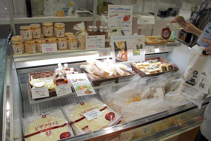 練馬産業見本市 クッキングチーズ