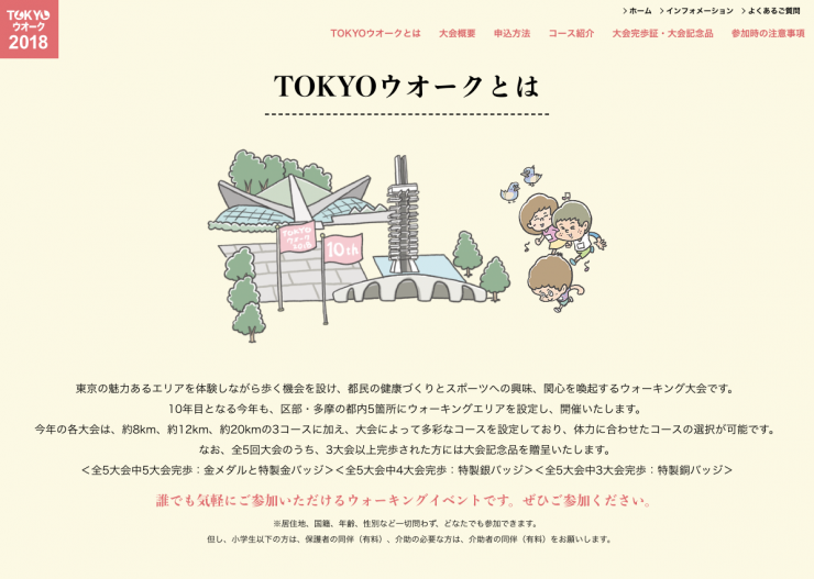 TOKYOウオークとは