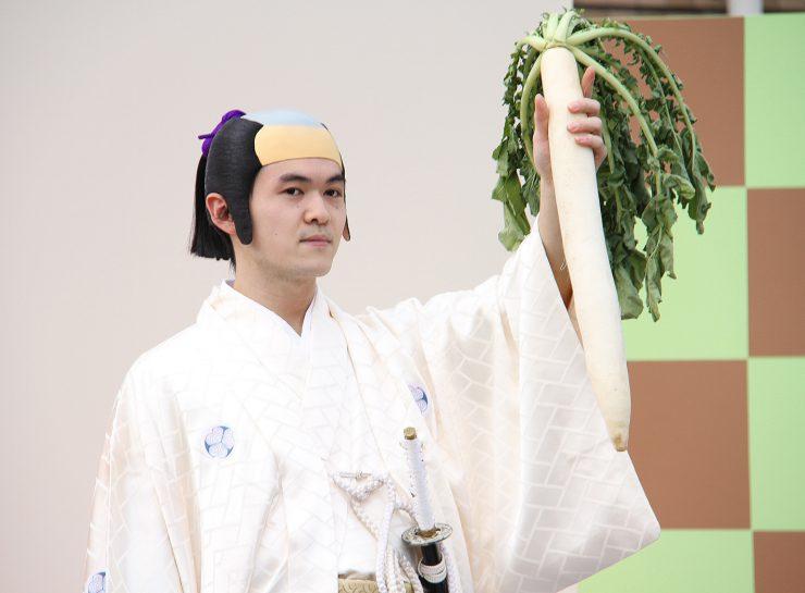 再現劇 徳川綱吉役