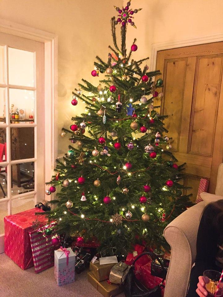 クリスマス(イギリスツリー)
