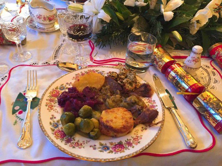 クリスマス(イギリス食卓)