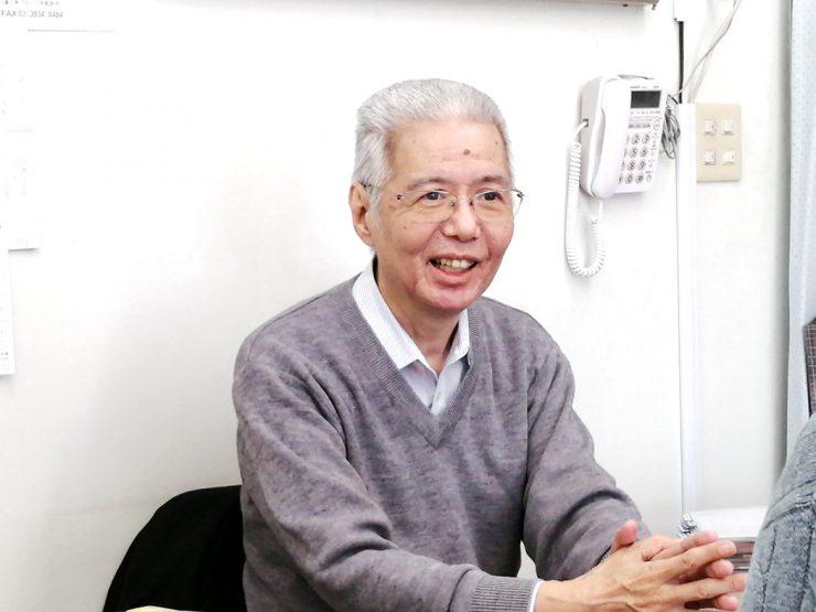 ご自身も田柄で育った富田国博先生。地元への愛着もひとしおです